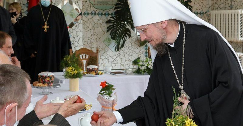 Предстоятель Белорусской Православной Церкви митрополит Вениамин